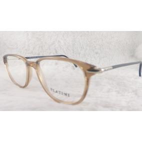 Armação Oculos Platini Frame Italy Armacoes - Óculos no Mercado ... 55c3154084