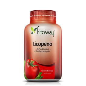 Licopeno + Selênio + Vitaminas C-e Antioxidante 60 Cáp
