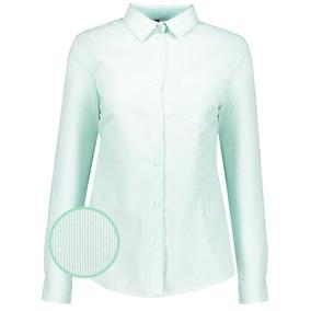 Camisa-blusa Dama Con Silueta Uniforme