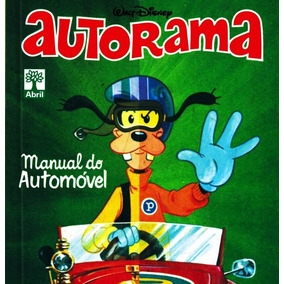 Manual Do Automóvel - Autorama Disney Abril Novo Lacrado