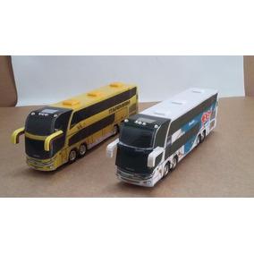 02 Ônibus Turismo / Viagem - Cod. 15 - Perez Ferromodelismo