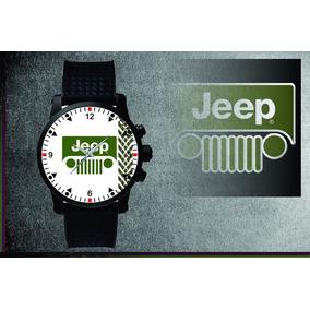 Relógio De Pulso Personalizado Jeep Willys 4x4 Off Road 003