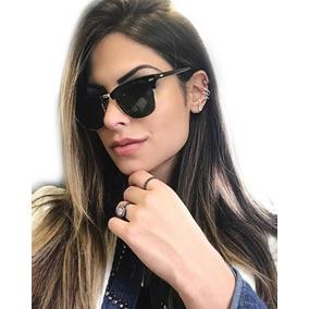 Óculos De Sol Feminino Masculino Clubemaster Clássico Quadra 86fb1e91fd