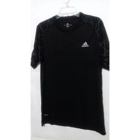 wholesale dealer de478 c3da9 Playera adidas Climacool Negro Hbre