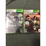 Halo Collection + Maseffect 2 Para Xbox 360 Y One , Envio!!