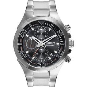 Relógio Orient Mbssc143 Visor Preto/azul Sport Frete Grátis