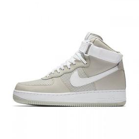 Tênis Nike Air Force Mid High Bege Original