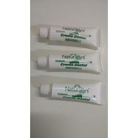 Creme Dental Naturallys Tubo 7g Com 120 Unidades