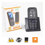 Celular Compacto My Spy 2 Chips Idoso Fm Card Simples Uso
