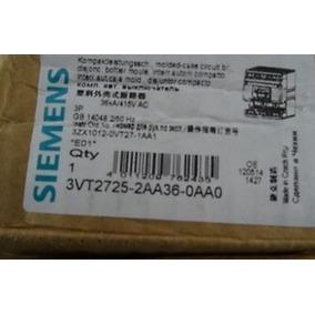 Disjuntor Tripolar Siemens 250a 3vt2725-2aa36-0aa0 C/ Disp