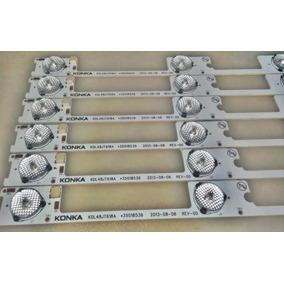 6 Barras Led Toshiba Kdl48jt618a Kdl48ss618u Dl4844 Aluminio