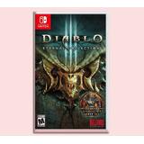 Diablo 3 Disponible Eternal Collection Nintendo Switch