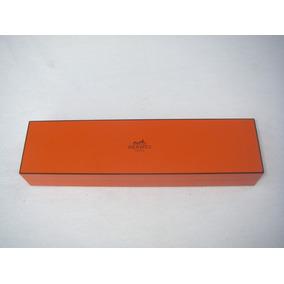 Estuche Para Reloj Hermes Color Naranja