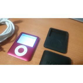 Ipod Mini 3ra Generación Usado Color Rojo Con Accesorios 8gb