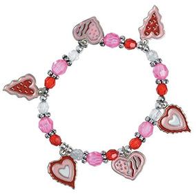 12pulsera De Corazón De San Valentín Kitscraftniña Bisuterí