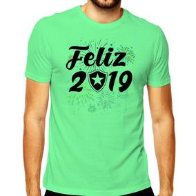 Camiseta Masculina Feliz 2019 Camisa Botafogo Time Futebol 58efa5b85a4f6