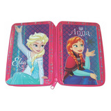 Cartuchera 1 Piso Tapas De Lata Disney Frozen Elsa Anna