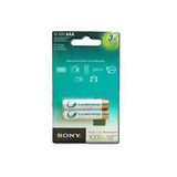 Pilas Recargables Sony Aaa 900 Mah X 2 Cycle Energy