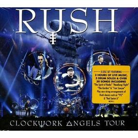 Cd Rush - Clockwork Angels Tour [digipak Lacrado Importado]