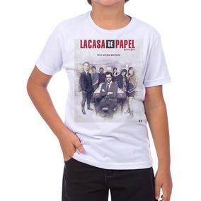 La Casa De Papel - Camisetas e Blusas no Mercado Livre Brasil a198b61dac8b2
