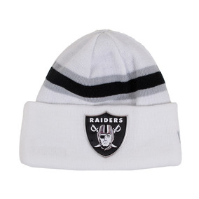Gorro New Era Oakland Raiders Branco 012bf592b3b