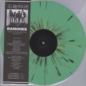 Ramones - The Club, Cambridge Boston, Ma. May 12th, 1976 Lp
