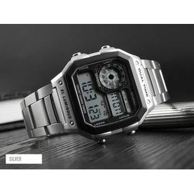 Relógio Masculino Retro Skmei 1335 Original Dual Time Digita