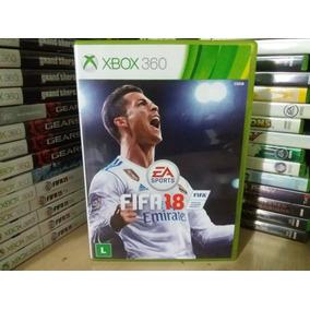 Jogo De Futebol Fifa 18 Xbox 360 Original Mídia Física