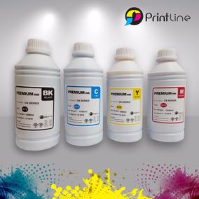 Tinta Hp-cn 1 Litro Marca Printline Cyan, Yellow Y Magenta