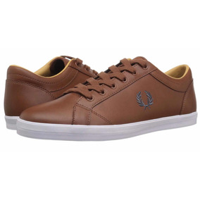 Tenis Fred Perry Baseline Piel