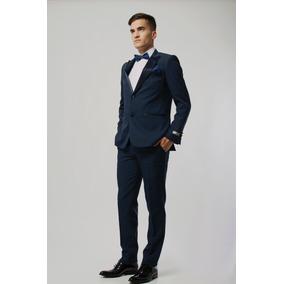 Traje Azul Marino - Trajes de Hombre Azul en Mercado Libre Argentina 66b4858c536