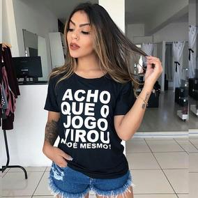 Blusas T Shirt Atacado Bras - Blusas Manga Curta Feminino no Mercado ... 3c4685b27eaf6