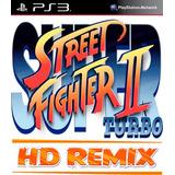 Super Street Fighter 2 Turbo Hd Remix Ps3 Digital Gcp