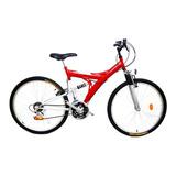 Bicicleta Mtb Doble Suspension Rodado 26 - 21 Veloc Ultimas!