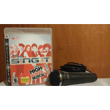 Disney Sing It High School Musical 3 Senior Year Ps3 Od.st