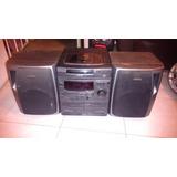 Minicomponente Aiwa Nsx-v2,3 Cds,doble Cassettera Y Tuner.