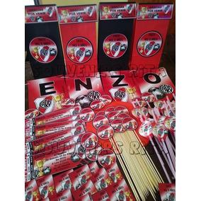 232865520 Porta Botellita Y Golosineras De River Plate - Souvenirs para tu ...