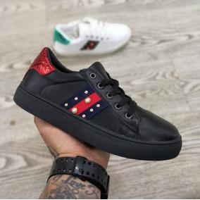 Zapatillas Gucci Negras - Ropa y Accesorios en Mercado Libre Colombia bfac7a6d107