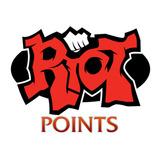 League Of Legends - 3330 Riot Points $21 / Rp Lan Recarga