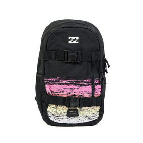 Mochila Billabong Command Skate Pack Negra Multicolor