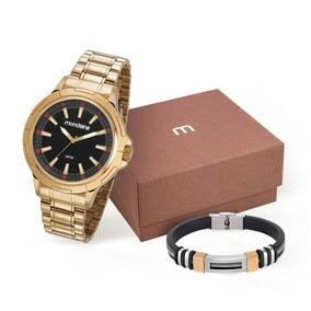 Relógio Masculino Mondaine Dourado