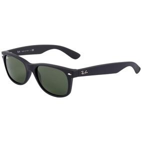 b9e48fcd0d3d9 Ray Ban New Wayfarer Preto Fosco 58 - Óculos no Mercado Livre Brasil
