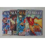Grandes Heróis Marvel Série Nova 2000 Do Nº 01, 03, 04 E 05