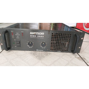 Amplificador Potencia Ciclotron Dbk 3000 - 750 Watts/rms
