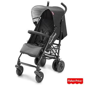 Carrinho De Bebê Guarda-chuva Preto - Fisher Price