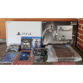 Ps4 Fat - Console Arkham Knight Limited Edition Bundle 500gb