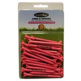Pink Golf Tees 2 3 4 Pulgadas De Plástico Flexible De Baj...