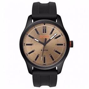 Relógio Hugo Boss Masculino Borracha Preta