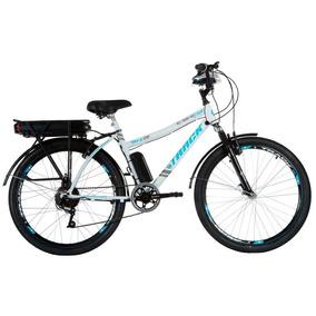 Bicicleta Elétrica Track Bikes Urbana Aro 26 Lithium