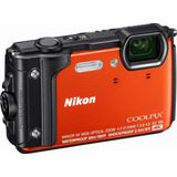 Nikon Coolpix W300 Waterproof Digital Camera 16 Mp- Orange